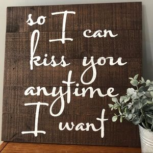 Rustic Sign Home Decor